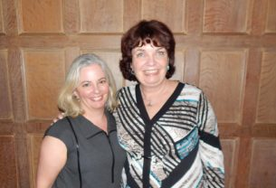 Executive Director (effective July 1) of the Westchester Community Foundation, Laura Rossi, and Former Executive Director (1999-2015) of the Westchester Community Foundation, Catherine Marsh