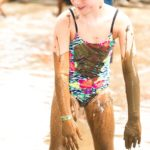 It wouldn't be a Muddy Puddles Mess Fest without tons of mud!  The giant mud pit is always one of the biggest attractions at the annual fundraiser for childhood cancer research hosted by the Muddy Puddles Project and Kiwi Country Day Camp.