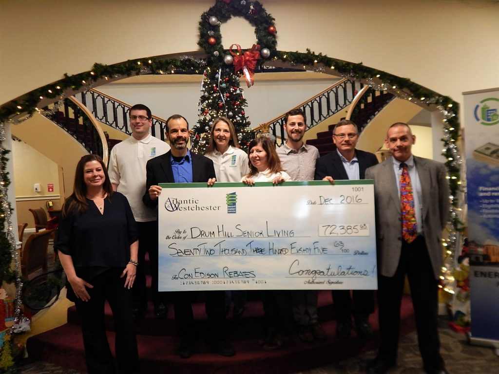 Peekskill Assisted Living Facility Receives $72,000 Con Edison Rebate