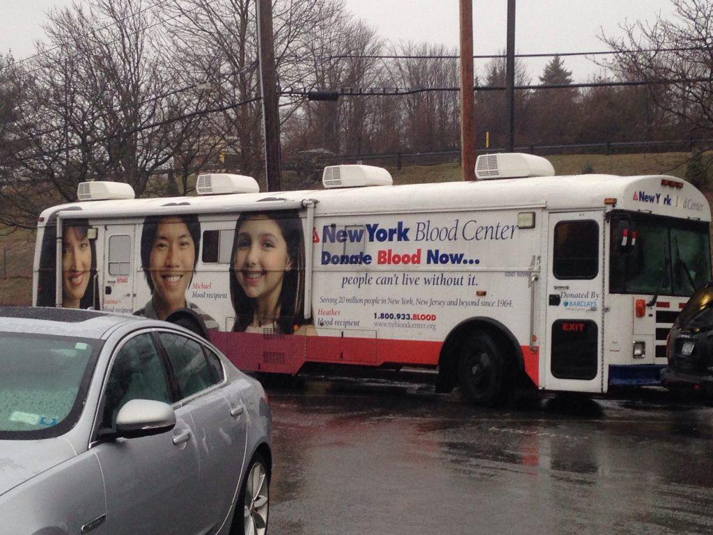 White Plains Linen Hosts Blood Drive in Peekskill, NY