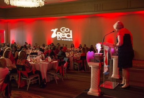Nearly 300 guests attended the Go Red For Women Luncheon on June 2nd at the Hilton Westchester. Go Red For Women's goal is to raise awareness and funds to fight women's #1 killer—heart disease.