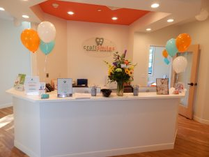 Front Desk at Craft Smiles Pediatric Dentistry