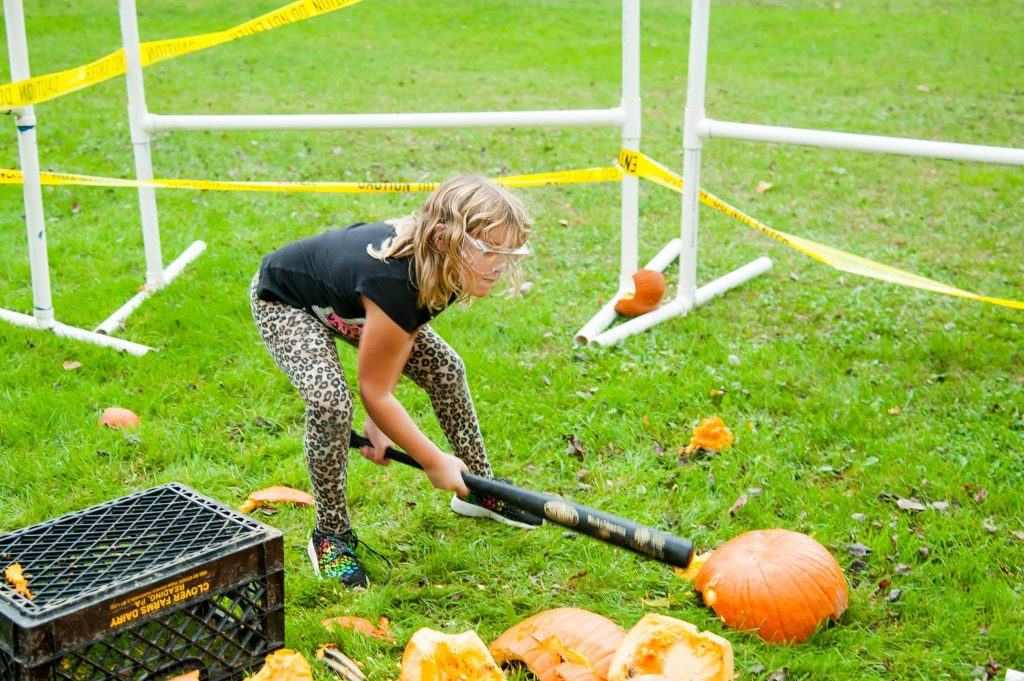 Summer Trails Day Camp Pumpkin Smash 2017