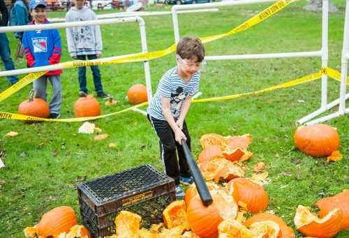 Summer Trails Day Camp Pumpkin Mash 2017