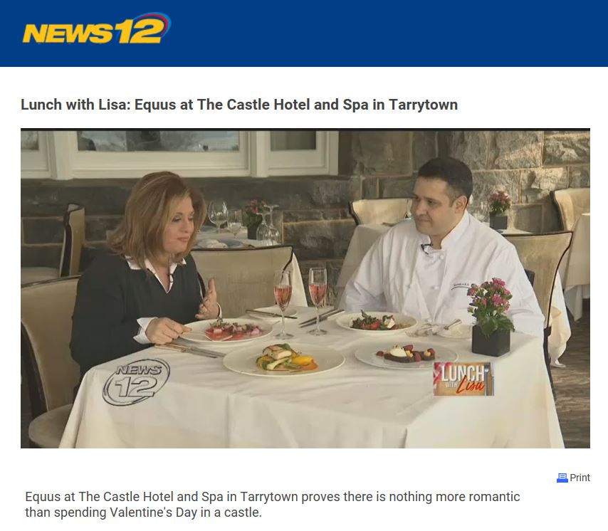 News12 Valentine's Day Castle Hotel & Spa