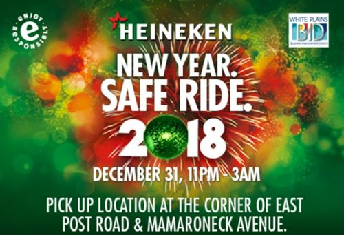 HEINEKEN USA announces New Year. Safe Ride. 2017 program