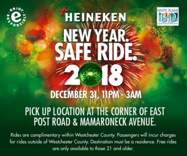 HEINEKEN USA announces New Year. Safe Ride. 2017 program
