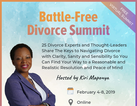 Battle Free Divorce Virtual Summit