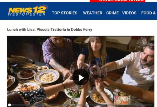 Dobbs Ferry's Piccola Trattoria Featured on News12 Westchester