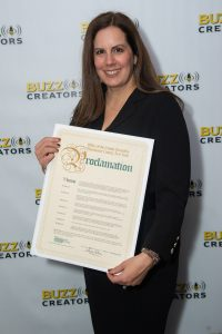 7-Buzz Creators' President Christina Rae Receives a Westchester County Proclamation