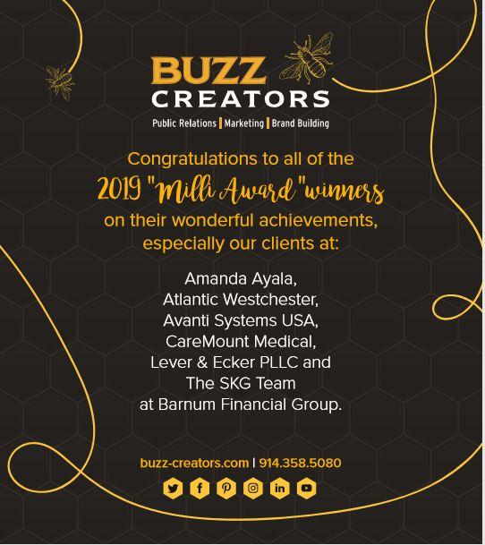 Six Buzz Creators Clients Win Milli Awards