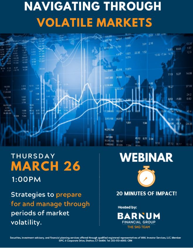 The SKG Team at Barnum Financial Group Webinar