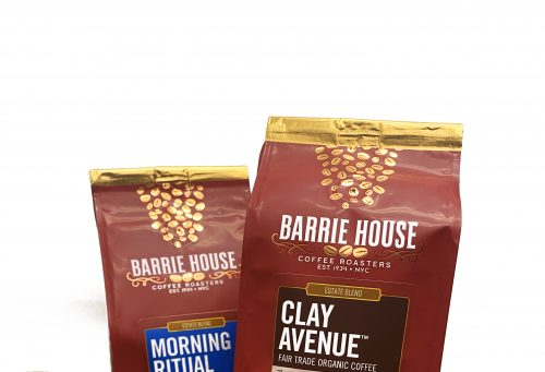 Barrie House Coffee Roasters launched an exciting new product line and rebrand of their logo and packaging.