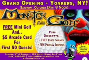 Mini Golf, Monsters, Music and Fun Rolls into Ridge Hill in Yonkers, NY