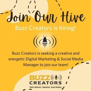 Social Media Manager Role - Buzz Creators PR